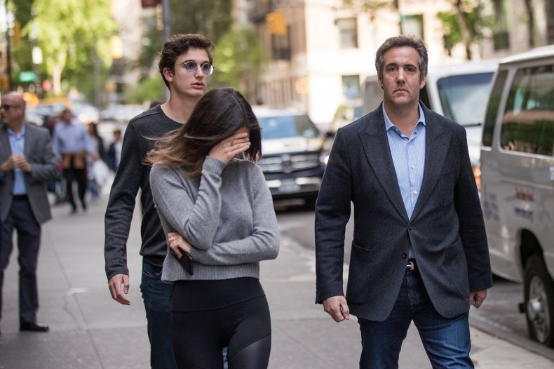 who, is, michael, cohen, wife, laura, shusterman,
