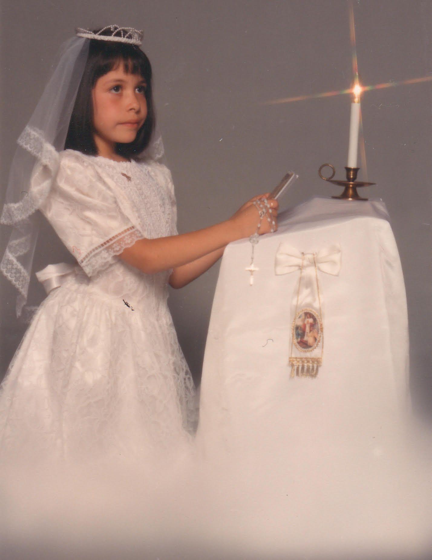 Erica Garza - First Communion