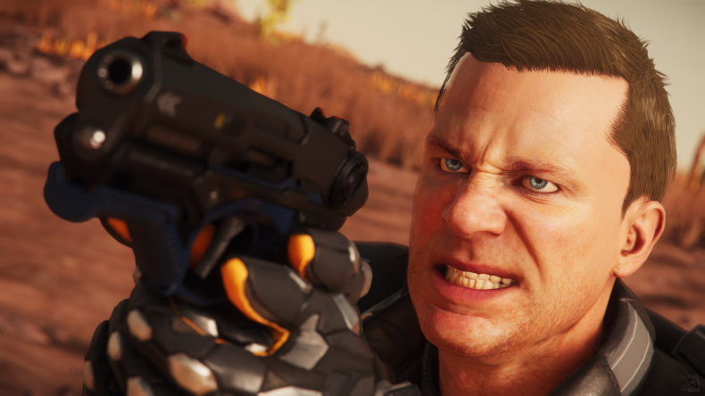 Star Citizen Angry face
