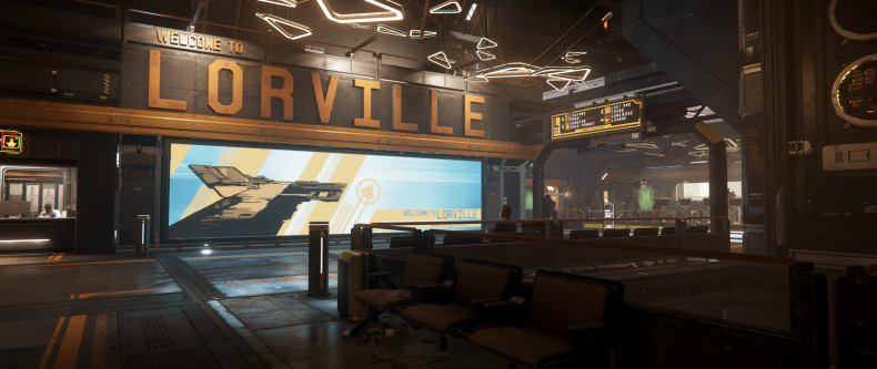 Star Citizen Welcome to Lorville