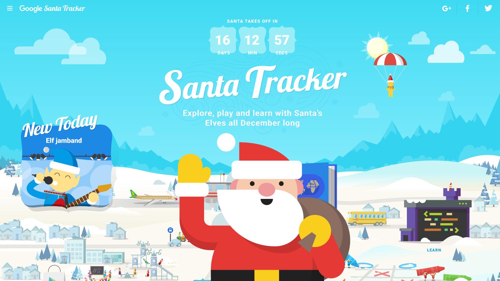 santa-tracker-village-with-santa