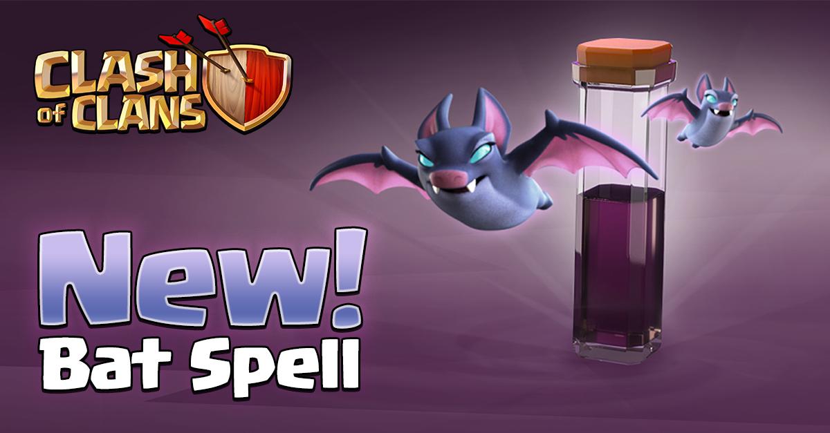 Clash of Clasn Bat Spell update header