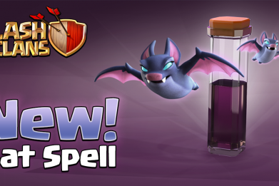 Clash of Clasn Bat Spell update header