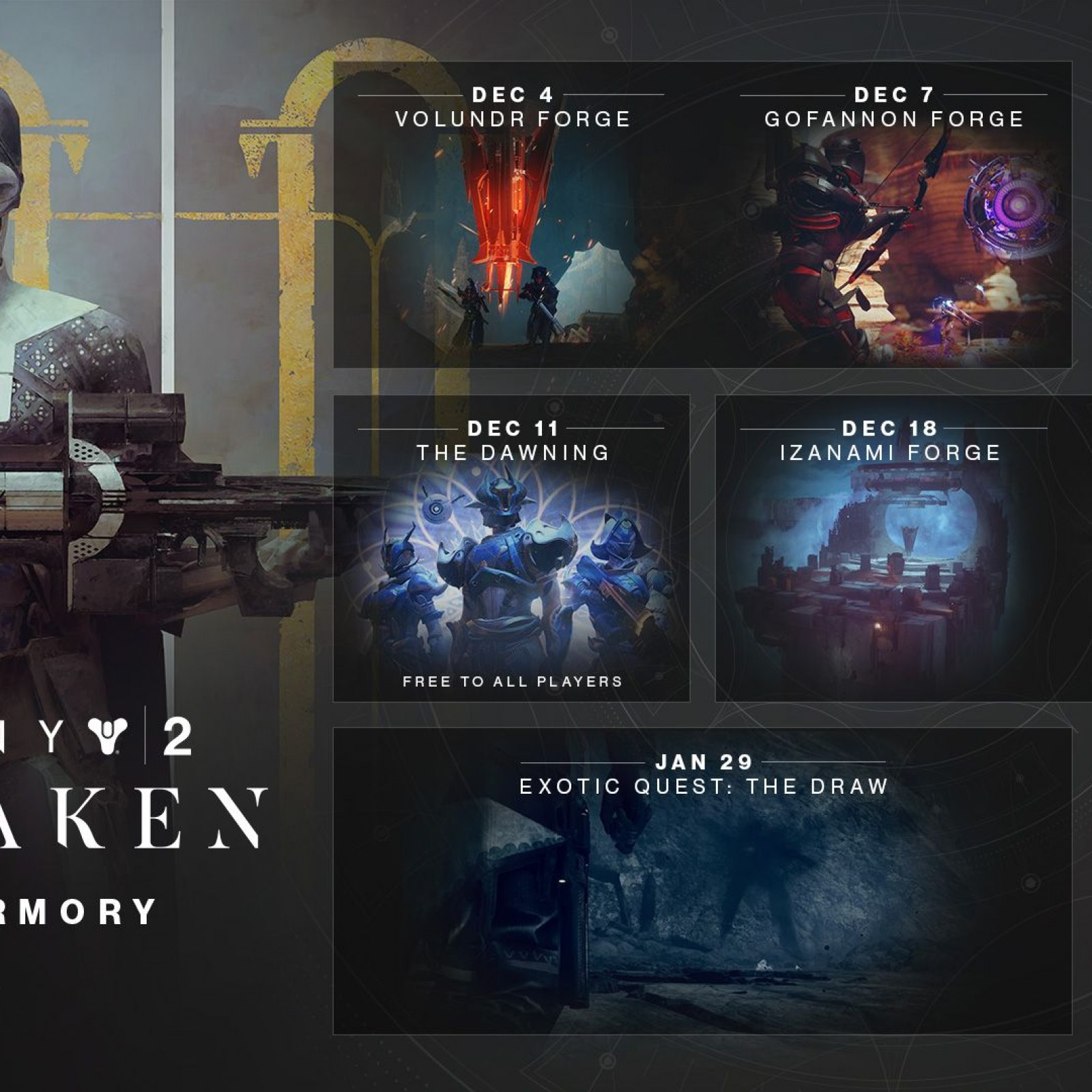 Destiny 2' Update 2 1 1 1 (1 30) Adds Black Armory & More