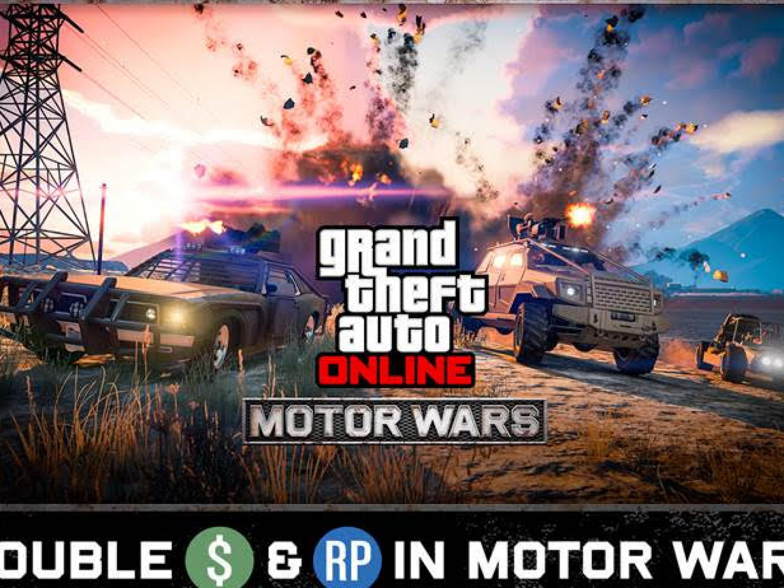 GTA Online' Weekly Update: Motor Wars Rewarding Double GTA