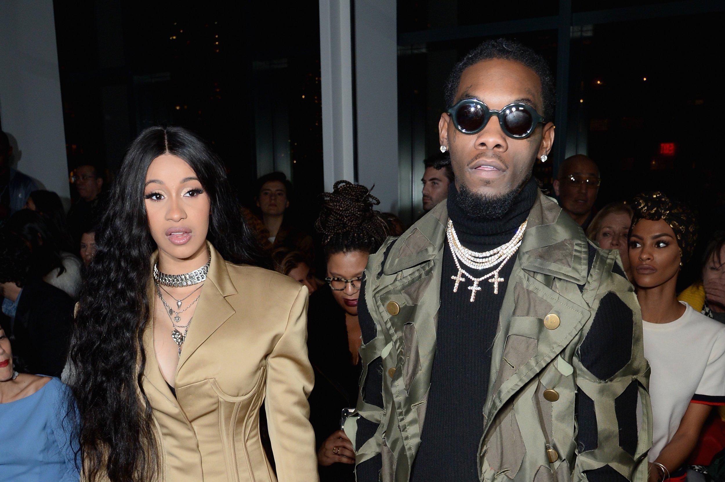 Migos Offset Husband Of Cardi B Arrested On Felony Gun: WATCH: Cardi B, Offset Divorce?: Rapper Announces Split