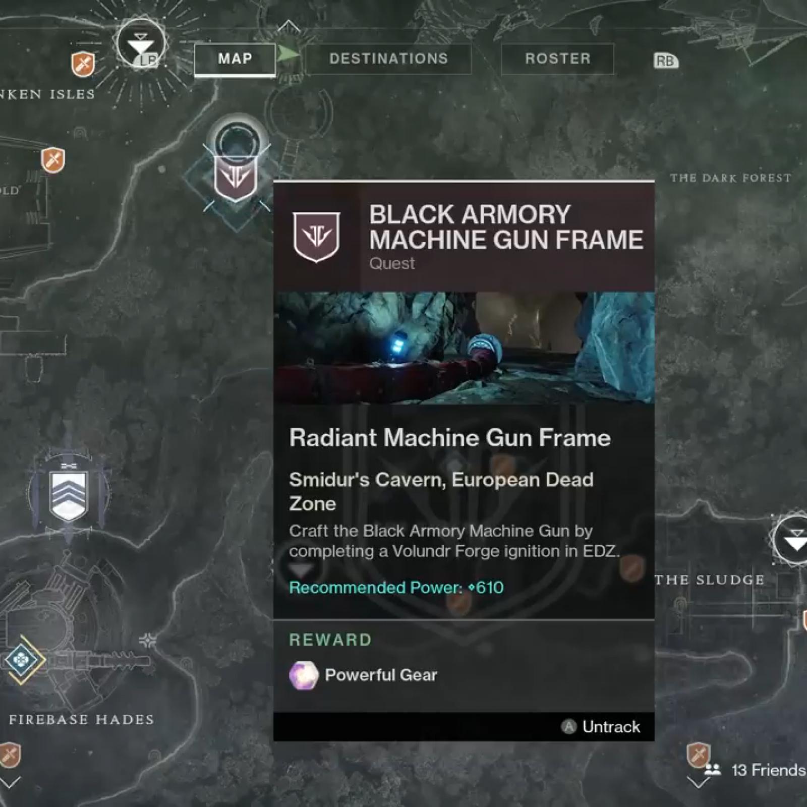 Destiny 2' Machine Gun Frame Guide - Powerful Enemy & Power