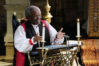 who is Reverend Bishop Michael Curry, George H.W. Bush funeral