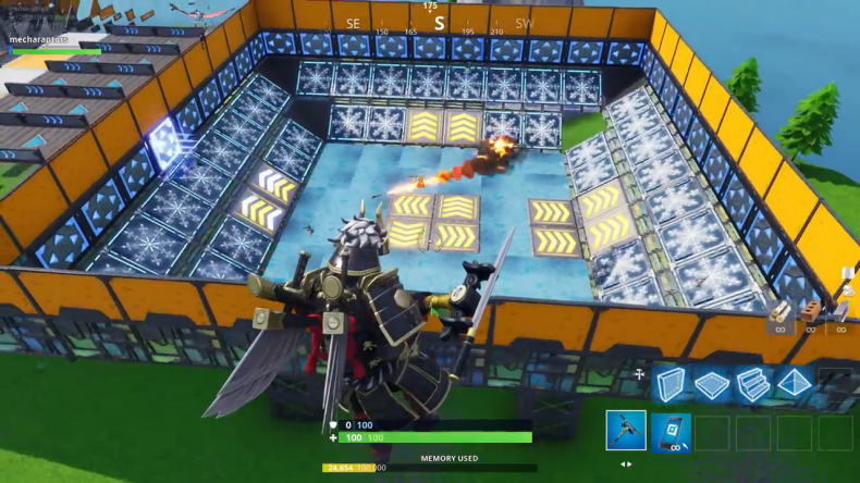 Fortnite creative arena