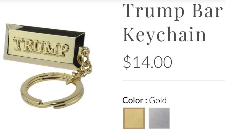 trumpstore handcuff keychain