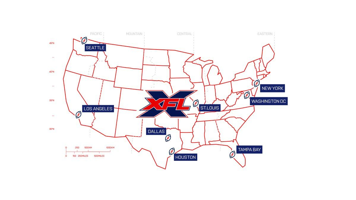What Is The Xfl Teams Tickets And Venues For New Football League