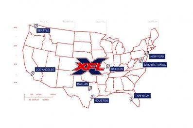 xfl team map