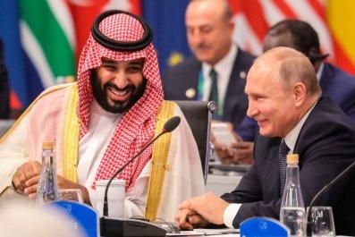vladimir putin, crown prince mohammed bin salman, msnbc trump journalists