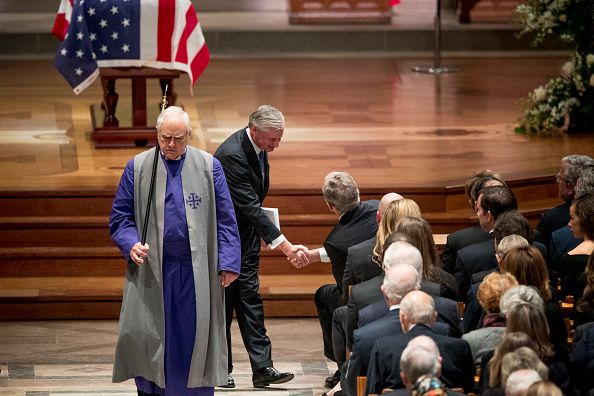 george h.w. bush eulogy, listened, jon meacham