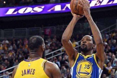 Kevin Durant LeBron James