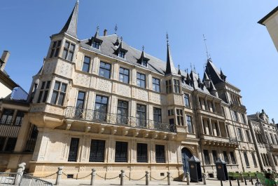 Grand Ducal Palace Luxembourg Free Public Transport