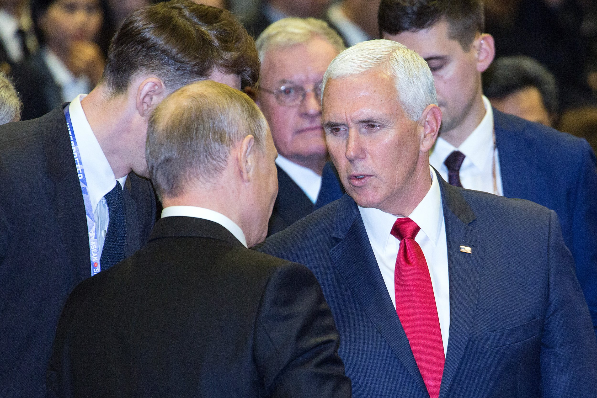 Mike Pence, Vladimir Putin, Russia, Collusion, Election, Interference