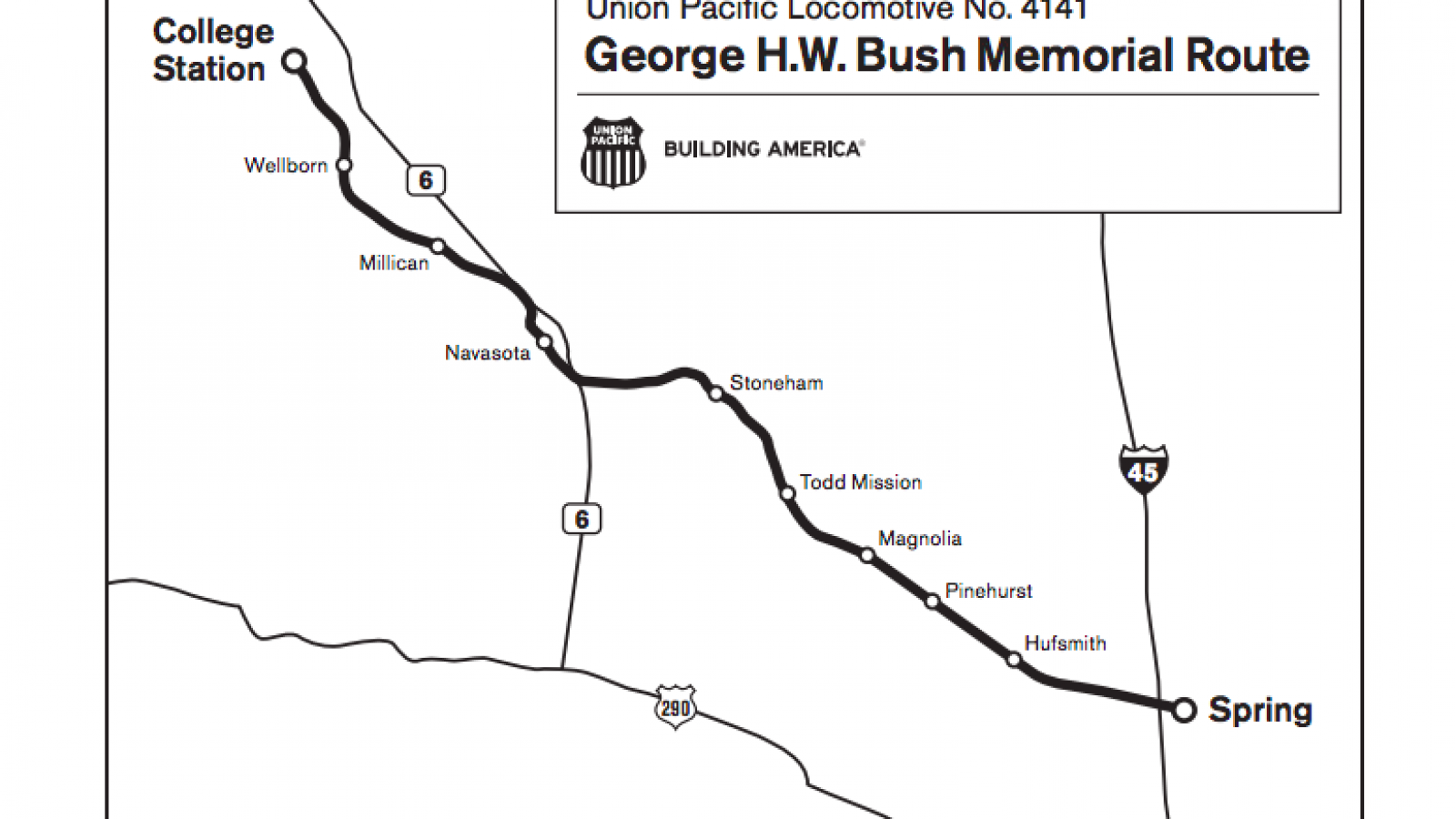 George H.W. Bush Train: Houston Funeral, Route, Map, Time, Plans to on sports authority field at mile high map, parkview field map, kyle zoning map, progressive field map, fedex field map, cashman field map, lp field map, ford center map, faurot field map, hometown kyle map, coca-cola field map, centurylink field map, lincoln financial field map, tropicana field map, u.s. cellular field map, durham bulls athletic park map, soldier field map, target field map, victory field map,