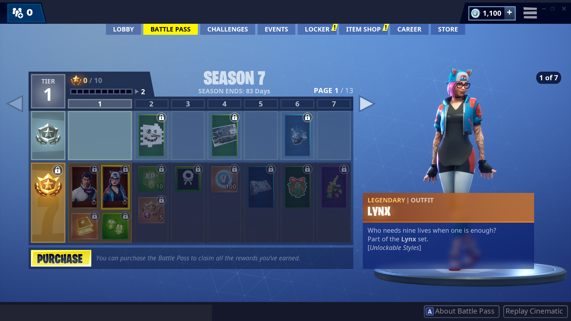 lynx is a cutie pie epic games - what is fortnite battle pass