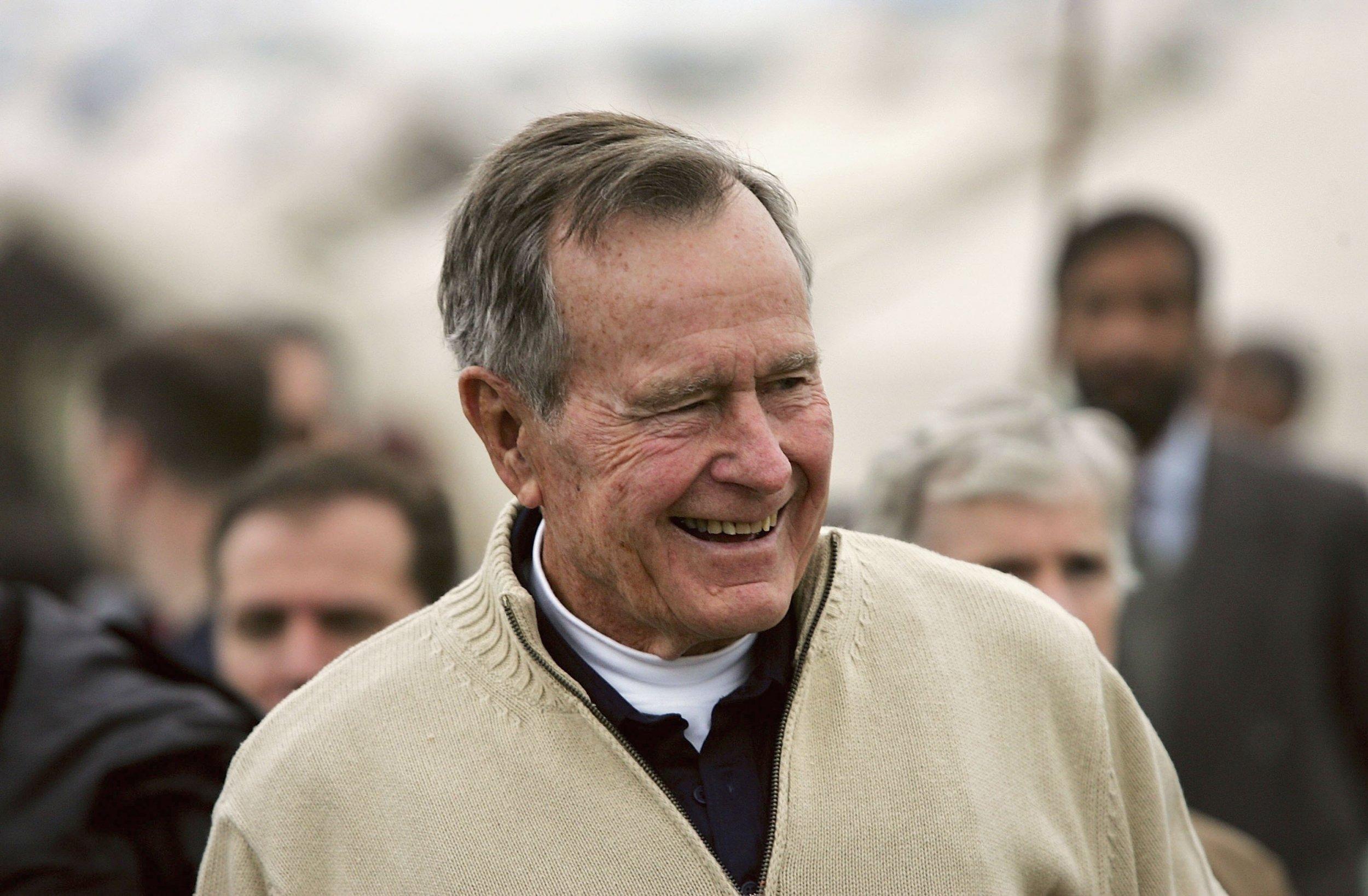 George H W Bush Funeral Particpants