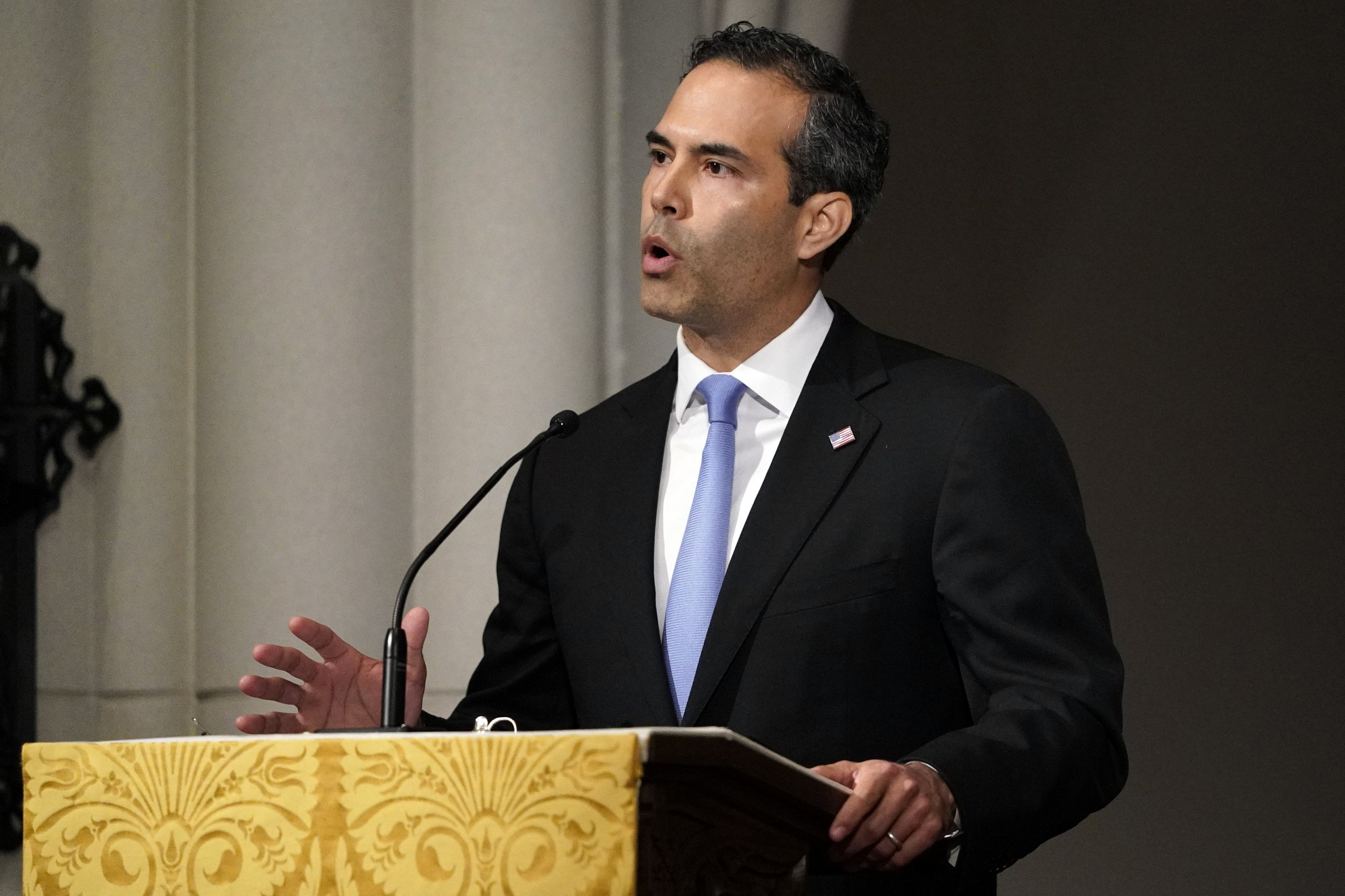 george p bush eulogy