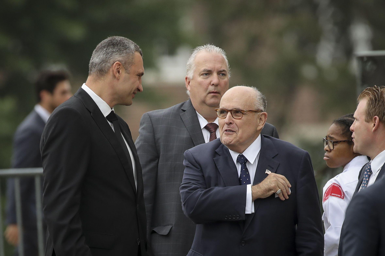 "Giuliani said Trump's written responses to Mueller were ""a nightmare"""