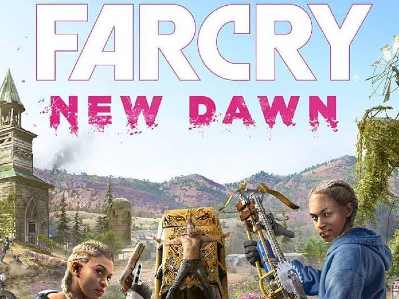 New Far Cry Leak Far Cry New Dawn Cover Teases Return To