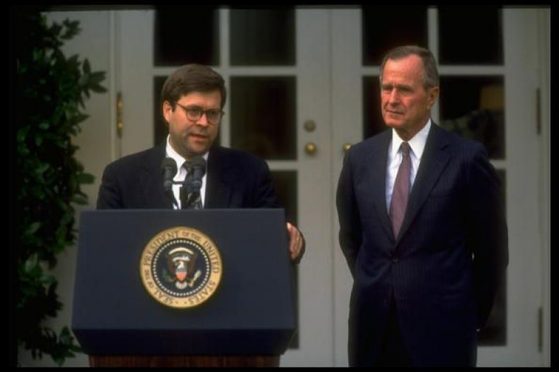 who is william barr, attorney general, trump, bush