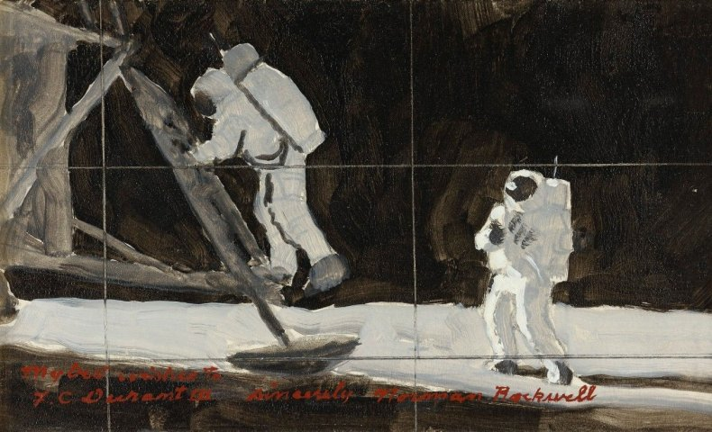 rockwell-painting-auction-moon-rocks-nasa