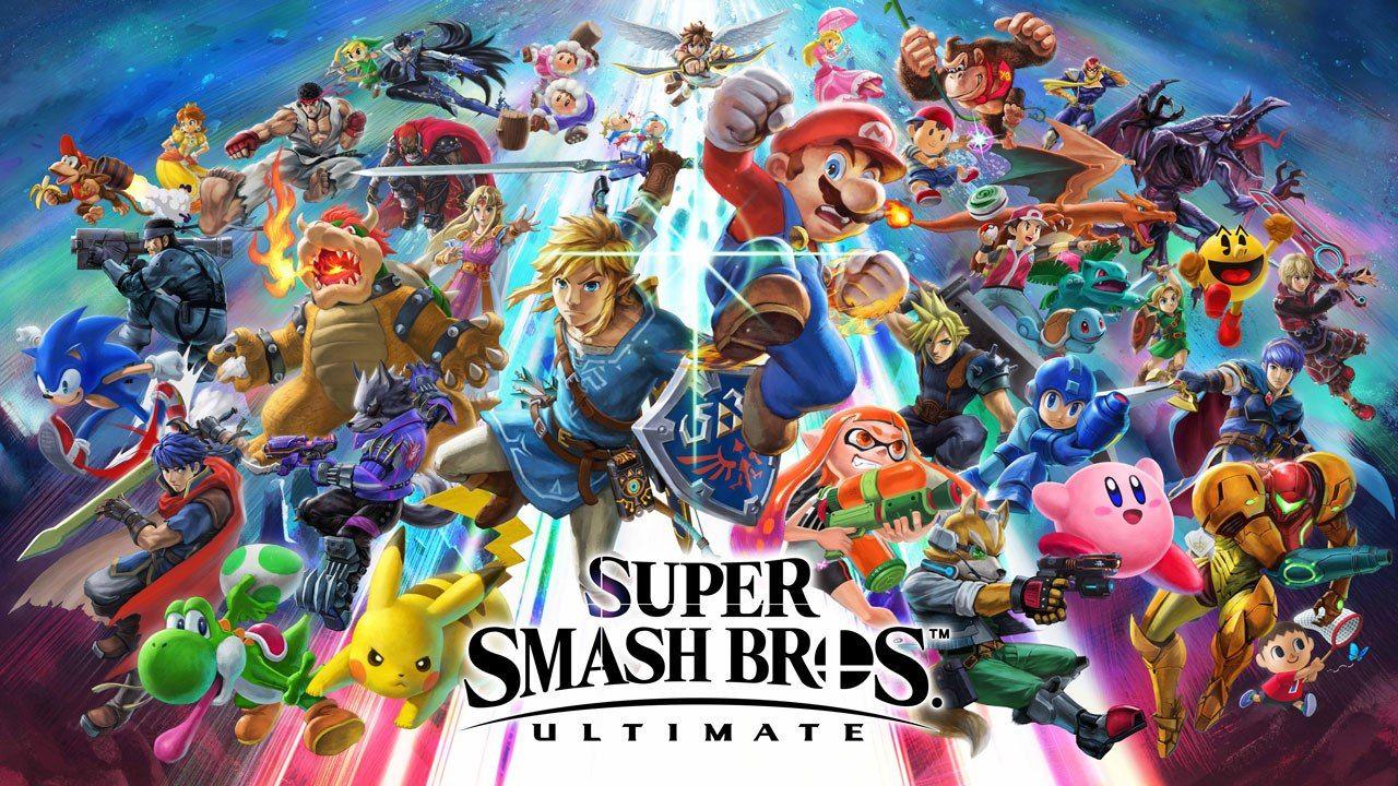 super smash bros cast