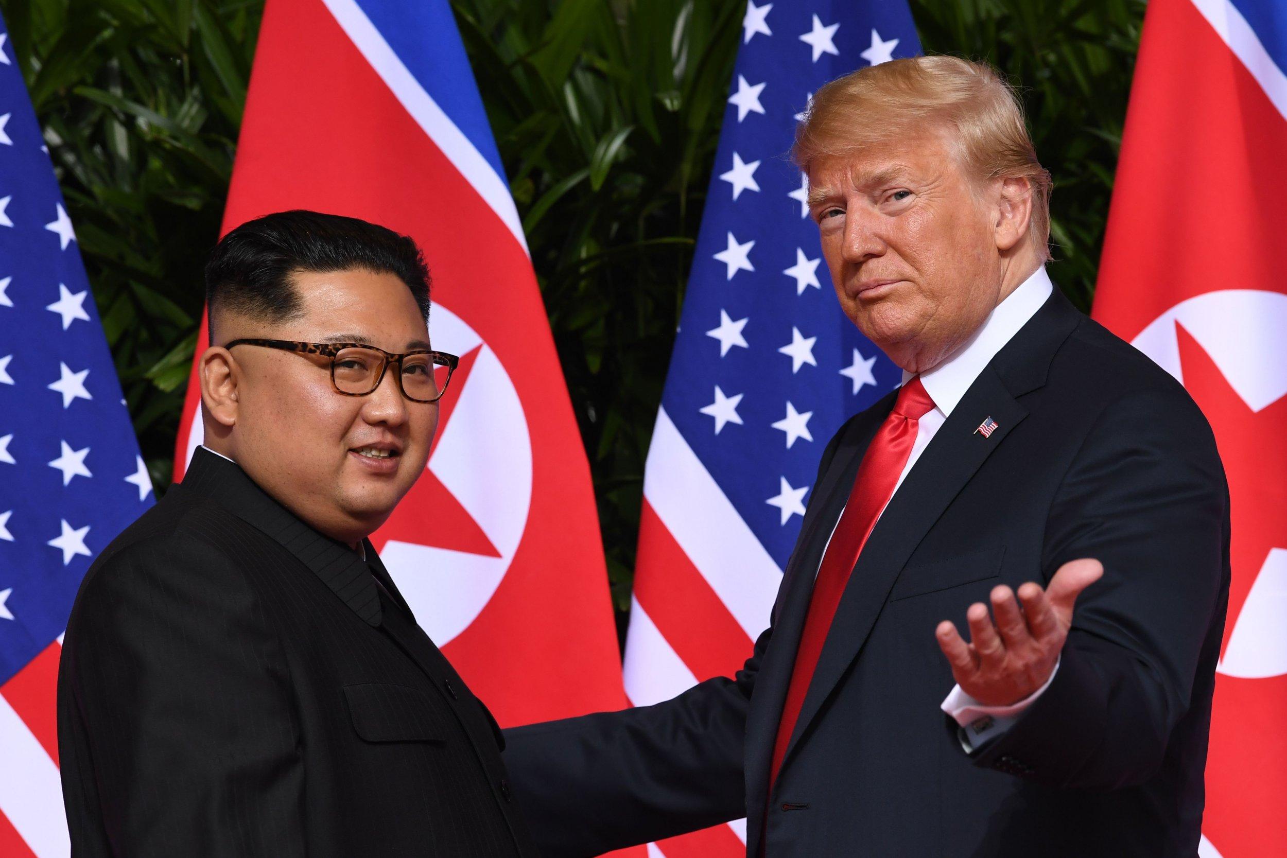 donald trump and north korea peace, missiles