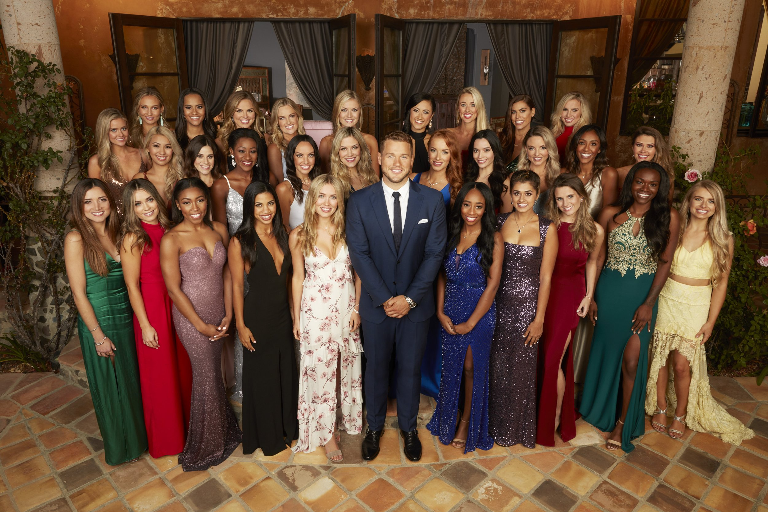 Bachelor Season 23 Cast with Colton Underwood