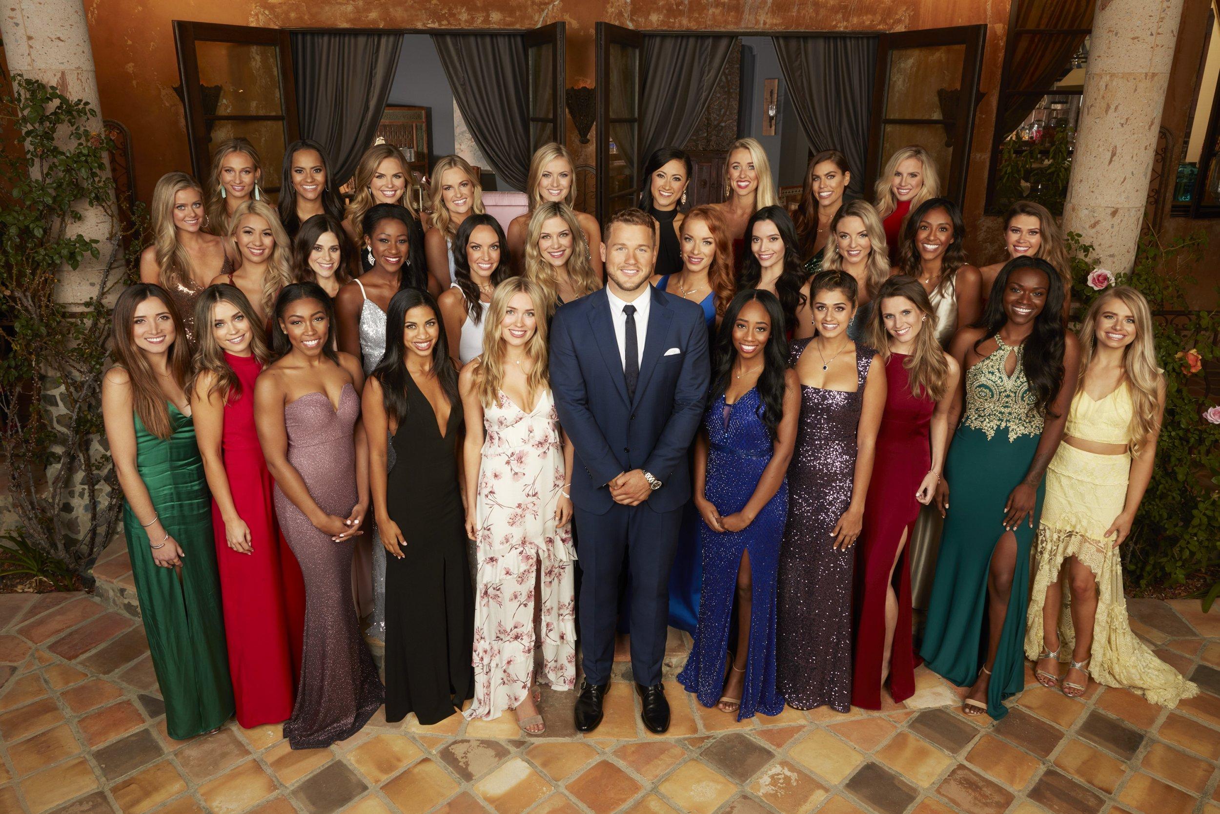 Bachelor Season 23 Cast with Colton Underwood