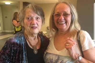 ancestry, DNA, family reunion, Genevieve Purinton, Connie Moultroup