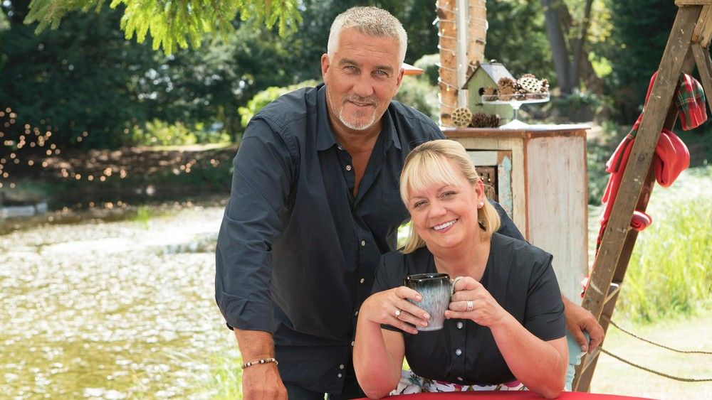 Paul Hollywood Sherry Yard Great American Baking Show