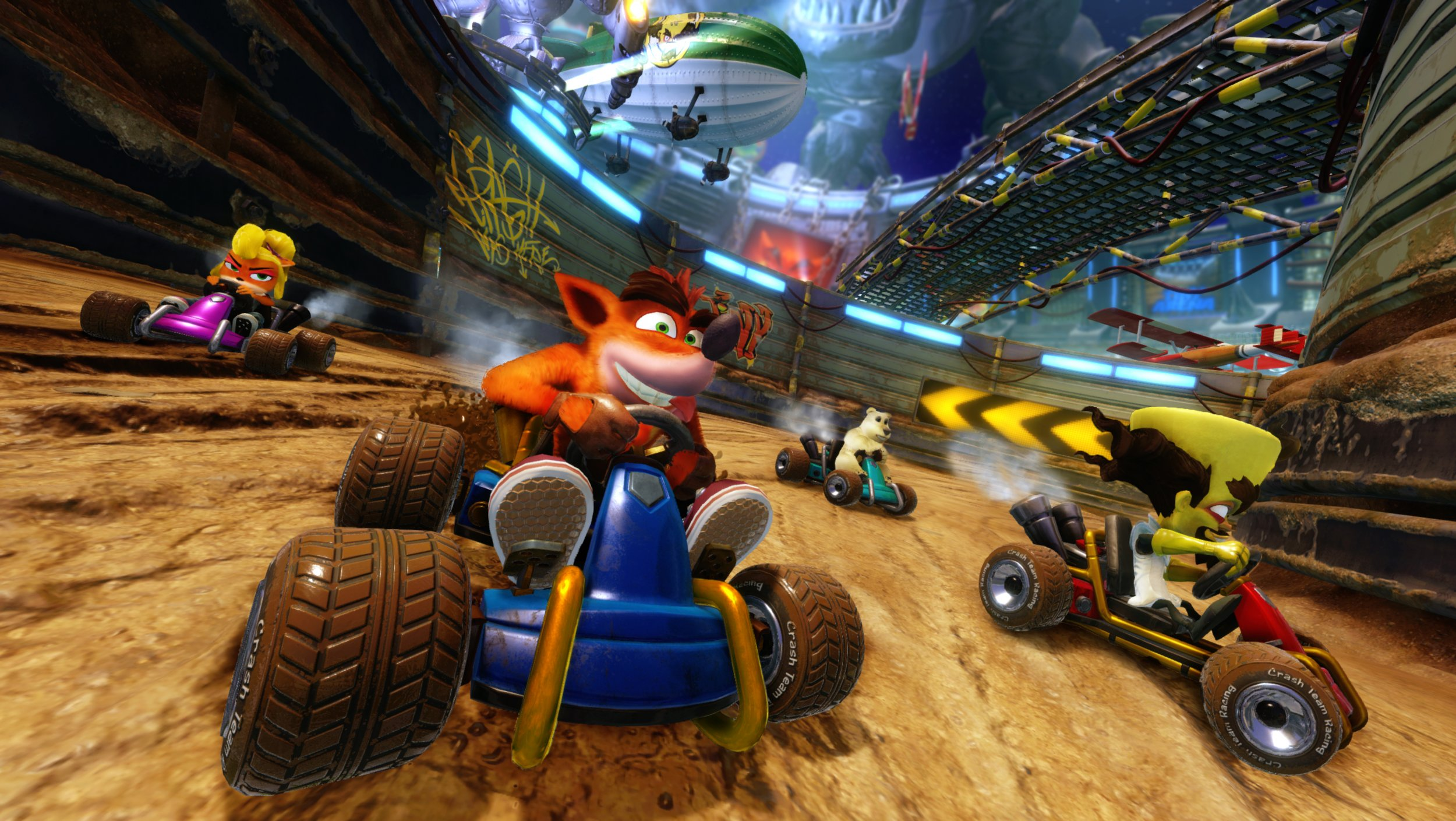 Crash Team Racing Nitro-Fueled' Plagued By Online Issues at Launch