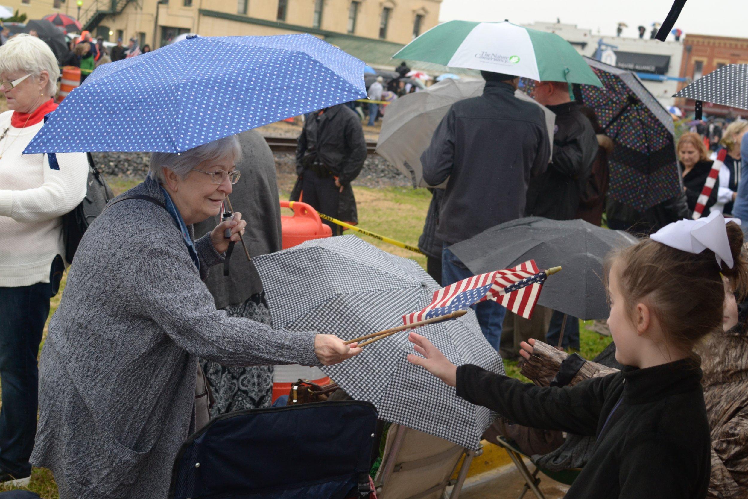 Bush Funeral Train Procession