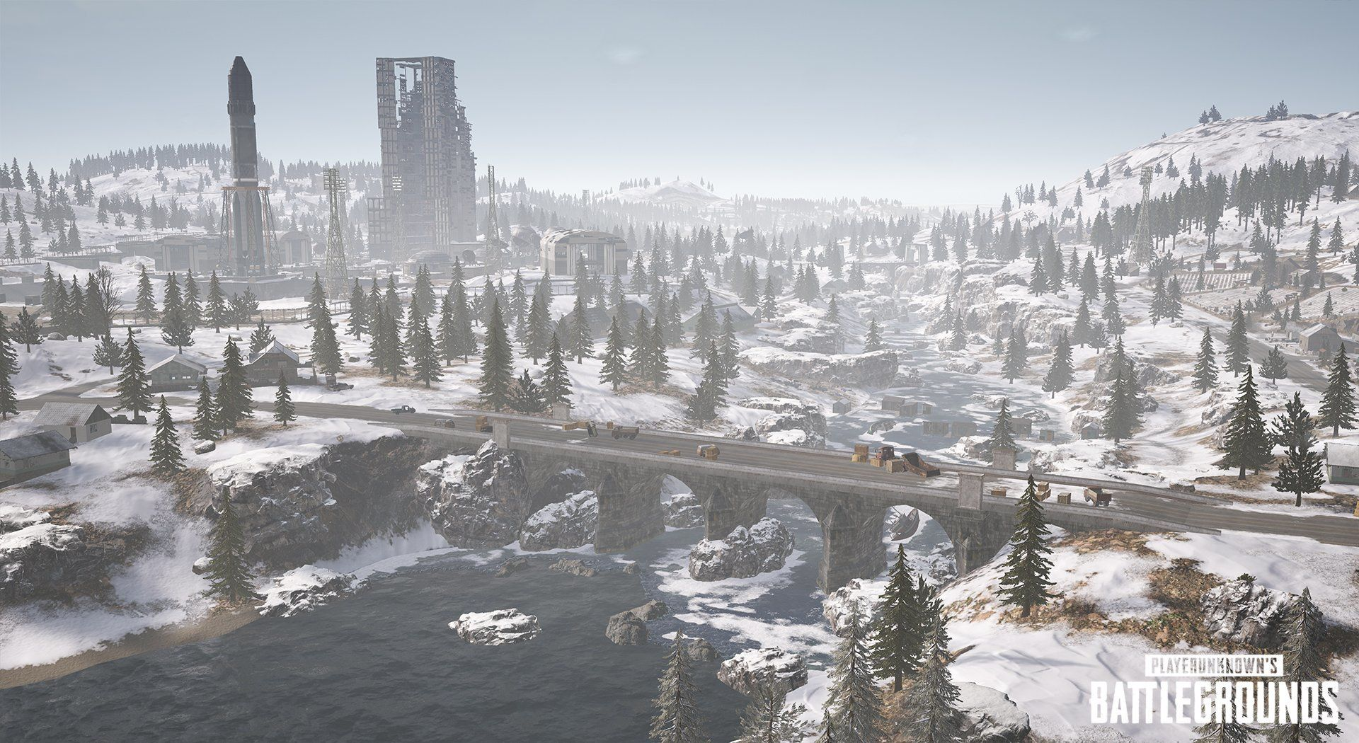 Pubg Snow Wallpaper Hd: 'PUBG' Update 24 Adds Vikendi Snow Map, Snowmobile & G36C