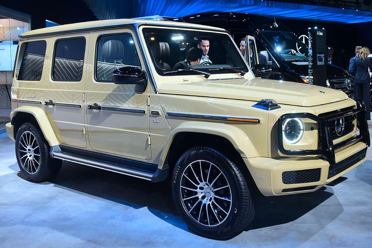 05 Mercedes Benz G550 Su GettyImages-1066255244