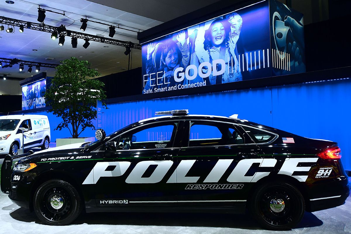 07 Ford Police Responder Hybrid GettyImages-1066485478