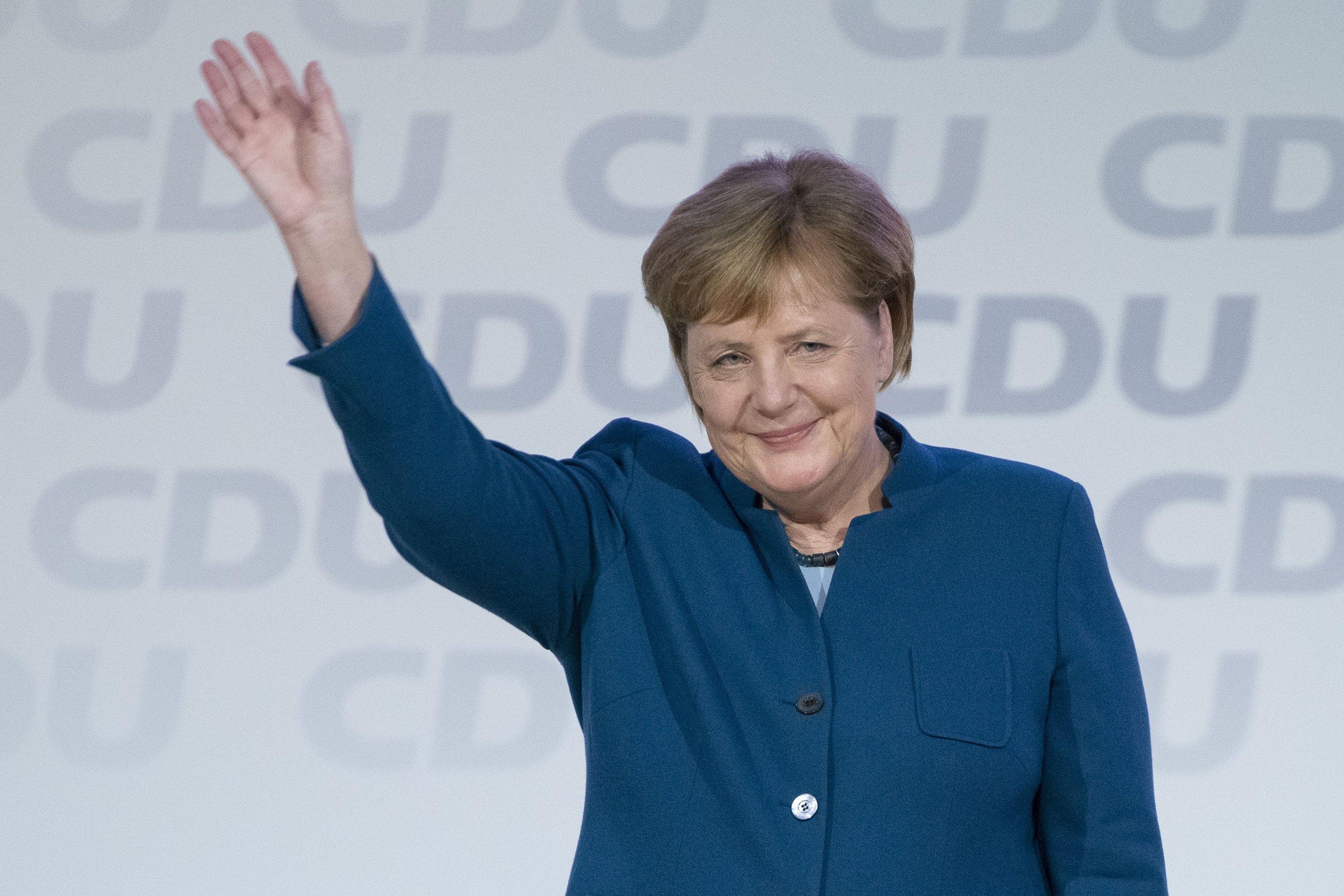 Angela Merkel Harvard