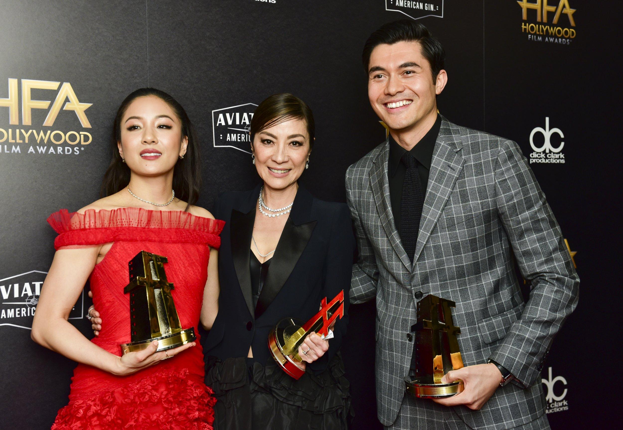 Constance Wu, Golden Globes, Crazy Rich Asians, Best Actress, Hollywood 2