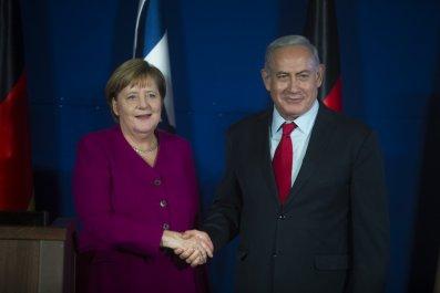 Benjamin Netanyahu, Angela Merkel Germany Israel