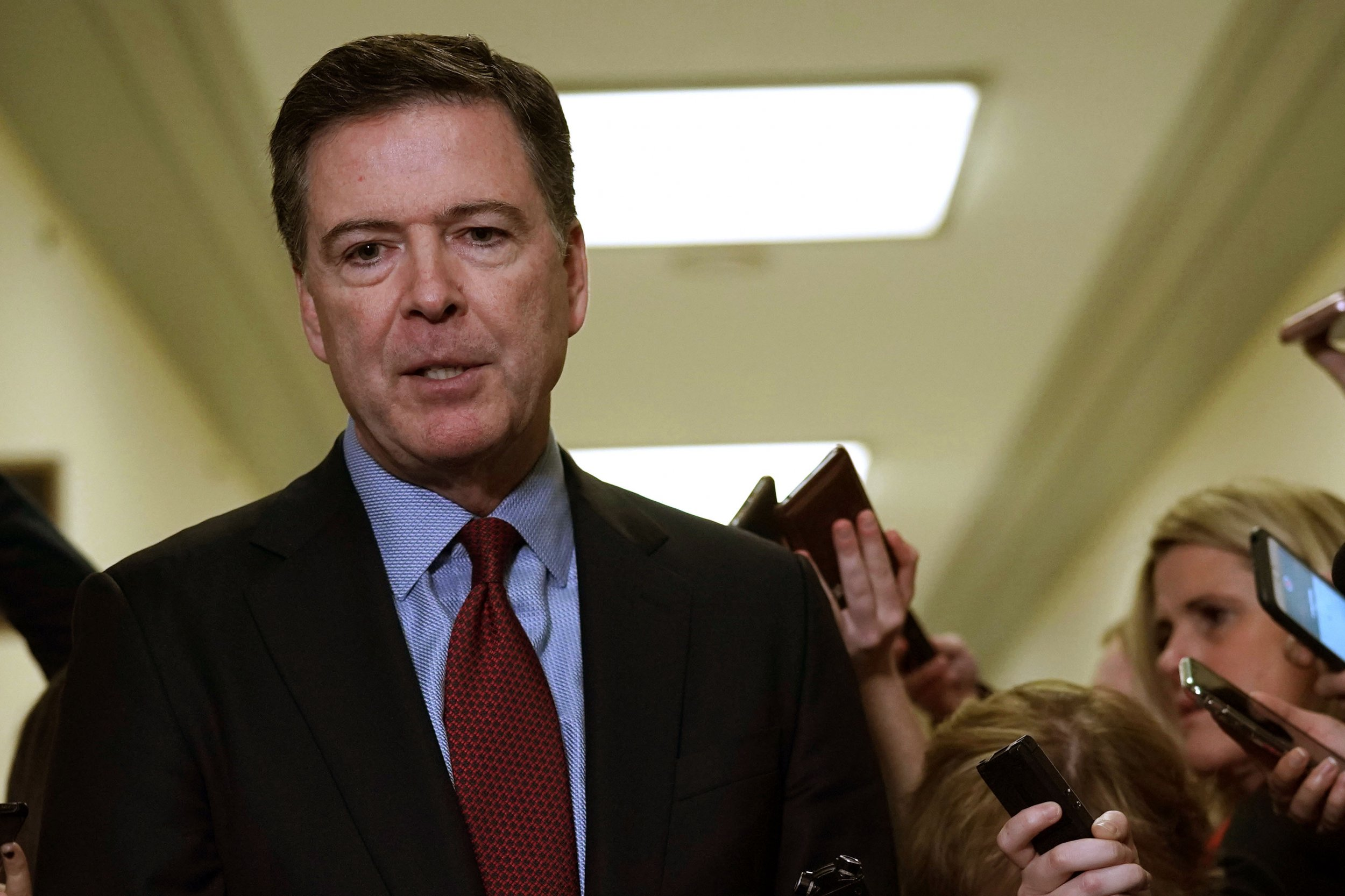 James Comey Blasts Having to Talk Again About 'Hillary Clinton's Emails for Heaven's Sake', Will Return for Second Testimony