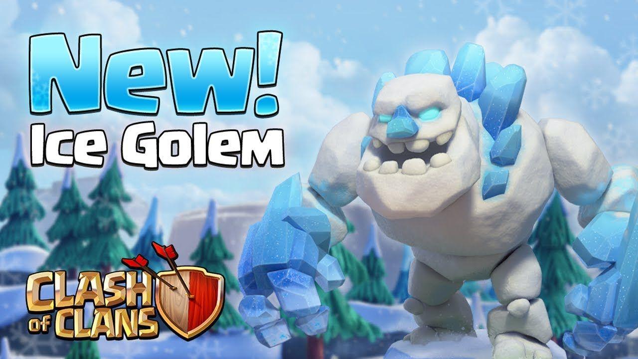 Clash Of Clans December Update Sneak Peeks Show Ice Golem Builder