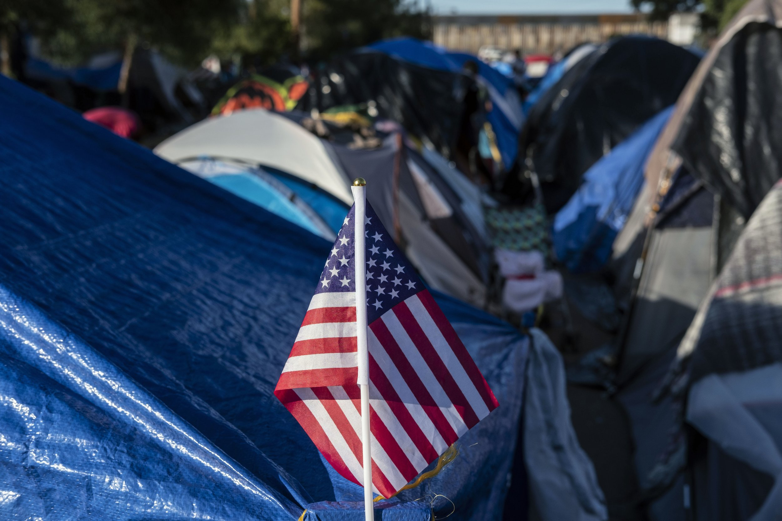 migration U.S. flag Donald Trump United Nations Mexico