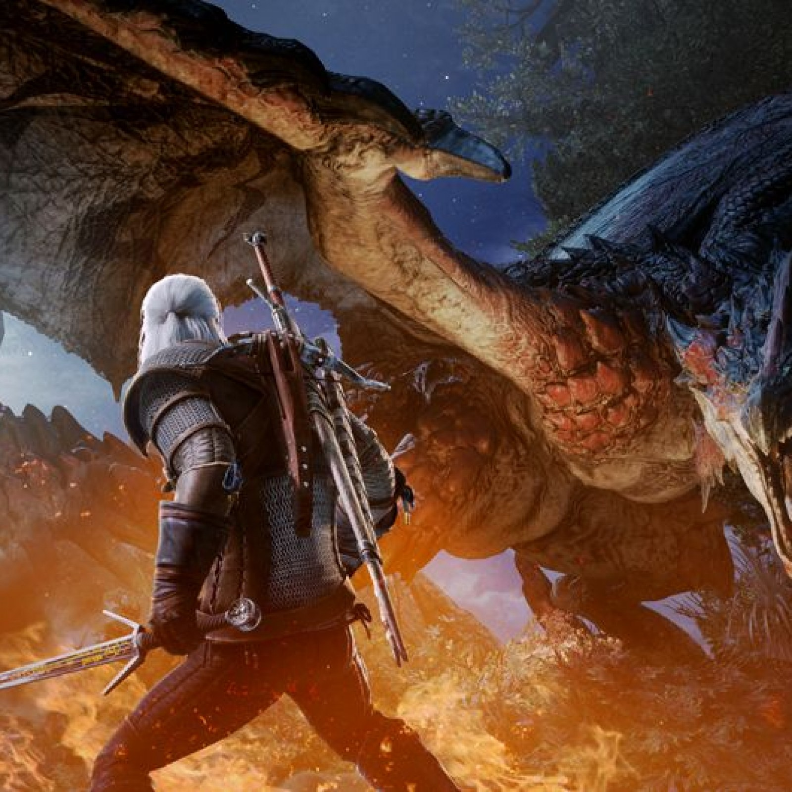 Monster Hunter World' and 'The Witcher 3' Event: Start Time