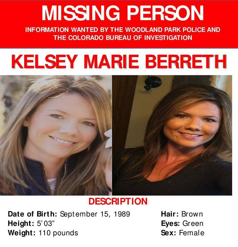 Missing Colorado Mom Kelsey Berreth Updates Text Messages