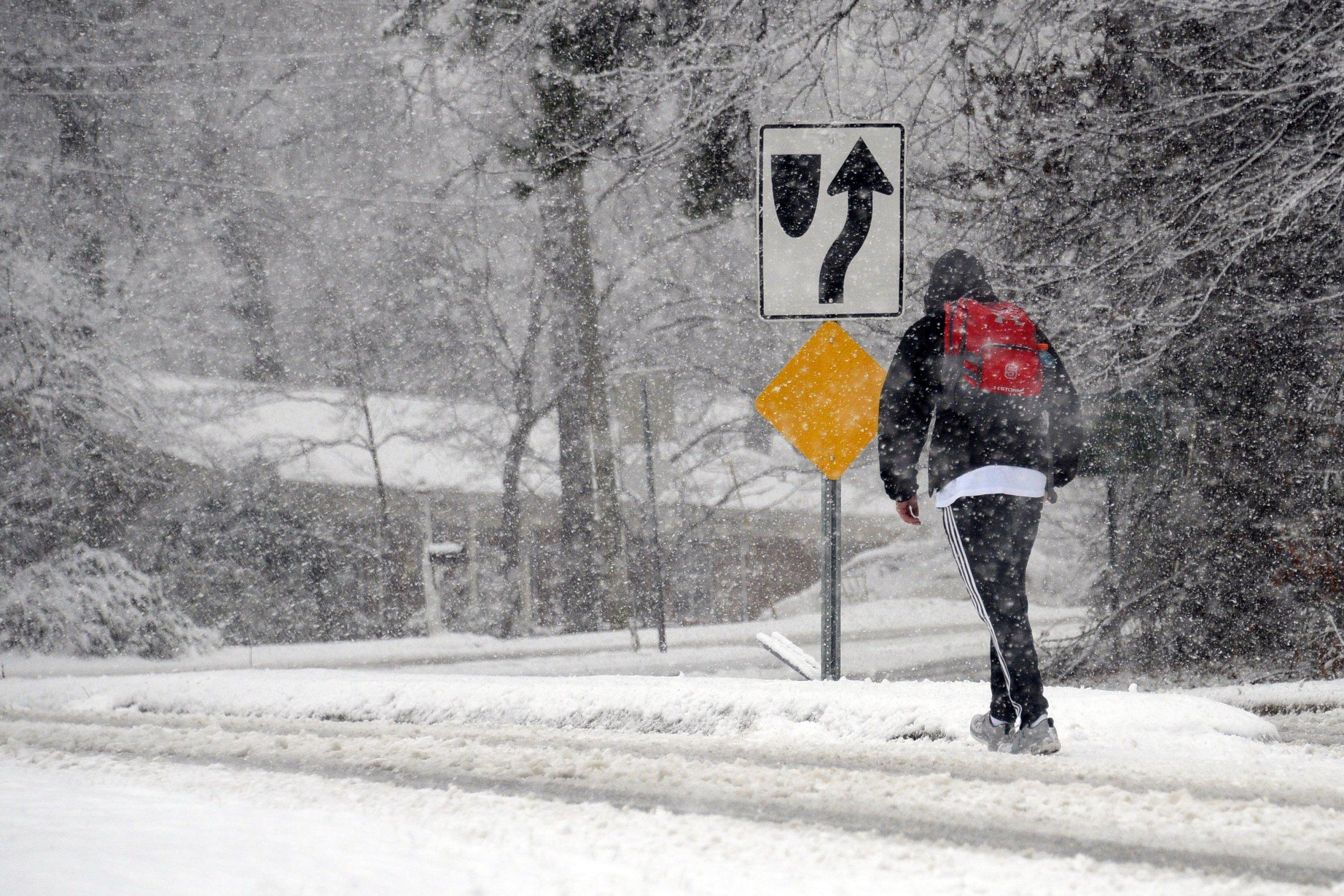 snow storm north carolina deaths