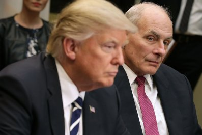 donald trump, john kelly, christmas, dinner